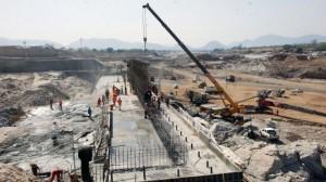 Cantiere della diga (fonte: ehabari.com)