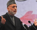 Il presidente dell'Afghanistan Hamid Karzai (fonte: guardian.co.uk)