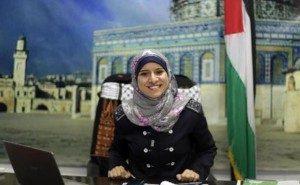 Israa al-Mudallal, la nuova portavoce di Hamas per la stampa estera Fonte: droitmusulman.typepad.com