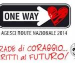Logo della route nazionale Agesci (fonte: dormirenelparco.it)