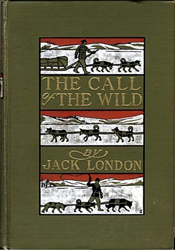 Jack London, The Call of the Wild, 1903 (Fonte: www.dreamdogsart.blogspot.com)
