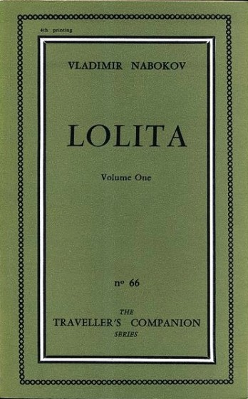 Vladimir Nabokov, Lolita, 1955. (Fonte: www.jacketmechanical.blogspot.com)