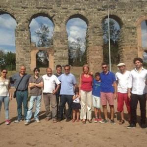 Alcuni rappresentanti della squadra Atletico Diritti. (Fonte: roma.repubblica.it)