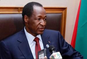 L'ormai ex-presidente Blaise Compaoré Fonte: senego.com