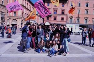 I ragazzi del Presidio Universitario di Bologna