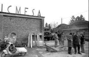 Lo stabilimento ICMESA a Meda, dopo il disastro Seveso. Fonte: Repubblica
