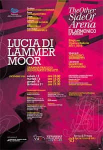 La locandina dell'opera (da www.arena.it)