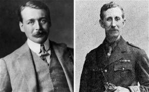 Da sinistra: Mark Sykes (1879-1919) e Franҫois Georges Picot (1870-1951). Diedero il nome agli accordi che nel 1916 contribuirono alla divisione territoriale del Kurdistan. (Fonte: www.telegraph.com.uk)