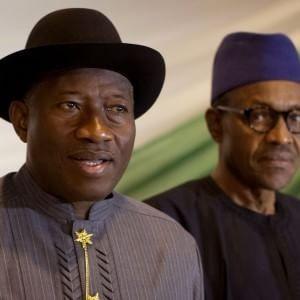 Goodluck Jonathan e Muhammadu Buhari (Fonte: repubblica.it)