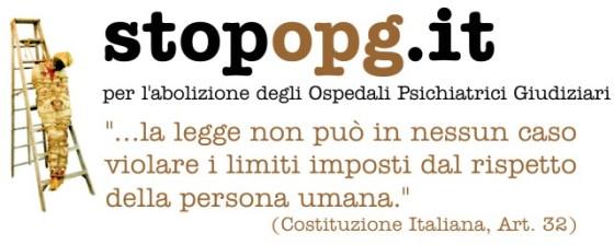 Banner della campagna Stop Opg (Fonte www.stopopg.it)