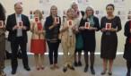 Honeyball e altre europarlamentari a sostegno  delle politiche contro la prostituzione