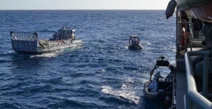 Un momento dell'operazione Triton (Fonte: www.frontex.europa.eu)