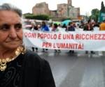 Corteo per i diritti dei Rom