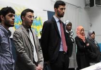 Un'immagine del direttivo. Fonte: giovanimusulmani.it