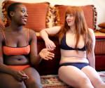 Le modelle di Neon Moon, che valorizzano la lingerie con il proprio corpo, e non il contrario. www.huffingtonpost.co.uk